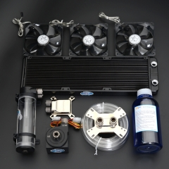 Syscooling computer water coolingkit with cpu radiator gpu water block
